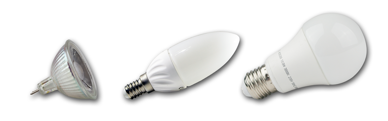 Glühbirne vs. LED Leuchtmittel - Highlight-LED