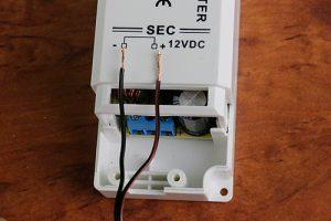 fertig angeschlossene LED Einbauleuchte an einen LED Trafo
