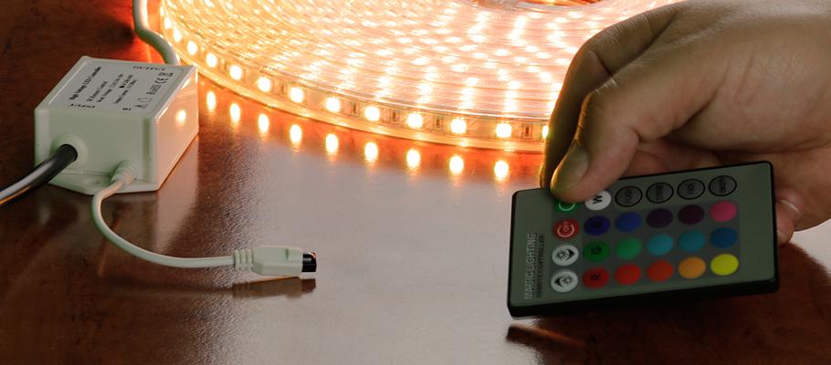 230V RGB LED-Streifen