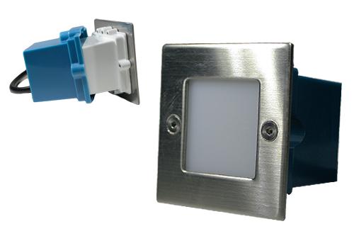 LED-Wand-Einbauleuchte-eckig-230V