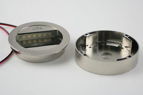 LED-Wandeinbauleuchte-Alu-silber