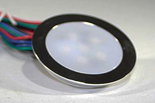 EBL-Slim LED-Spot mit 6 RGB SMD LEDs