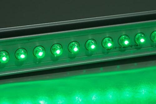 Aluminium LED Lichtleiste, grün
