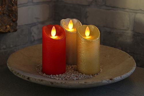 LED Kerzen mit täuschend echter Flamme