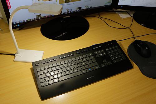 Schreibtisch LED Leuchte CT-TL 10, weiß