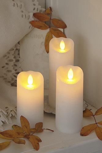LED Kerzen eignen sich für Dekorationen