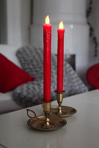 LED Stabkerze für romantische Momente