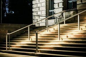 Außergewöhnliche Treppenbeleuchtung mit 230V- Stripe
